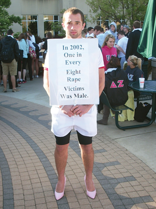 Albion Fellows Bacon Center Walk a Mile in her Shoes